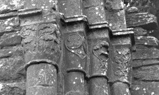 Chancel arch capitals