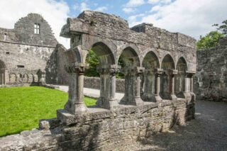 Cloister remains