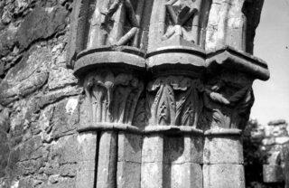 South doorway capitals