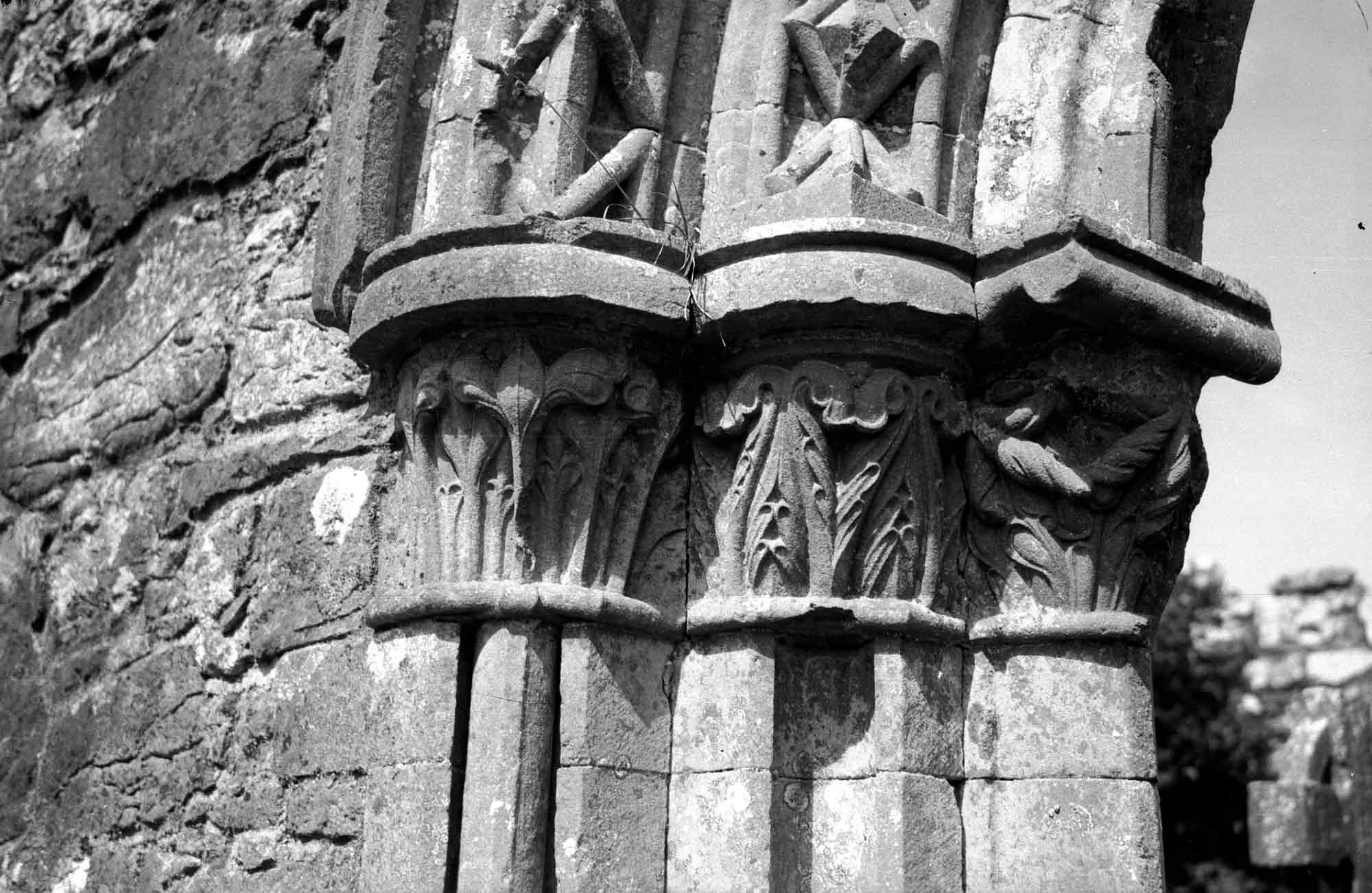 South doorway capitals