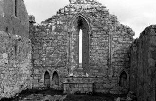 Double window on east wall