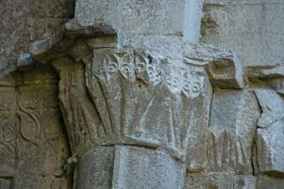 South capitals in the chancel arch