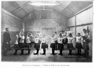 Drill class, 1909