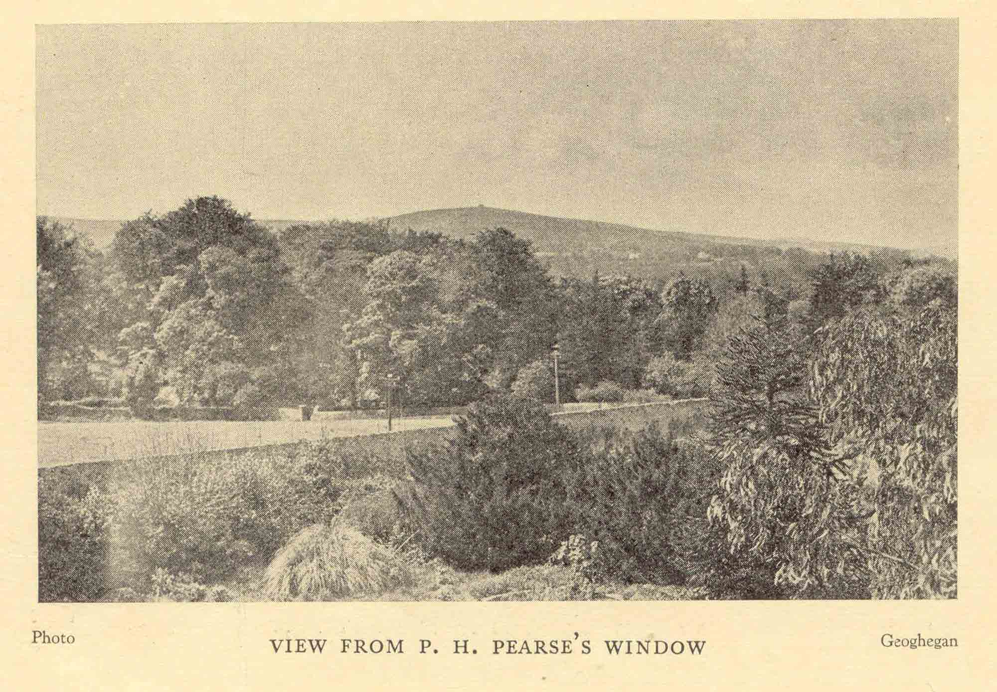 View from Pearse's window