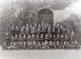 School Photo, 1908