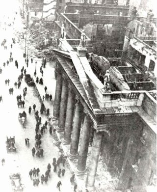 GPO in ruins