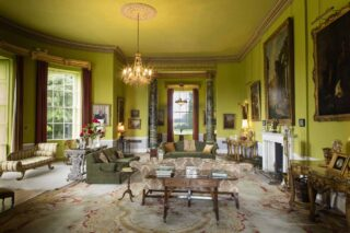 The drawing room at Emo Court