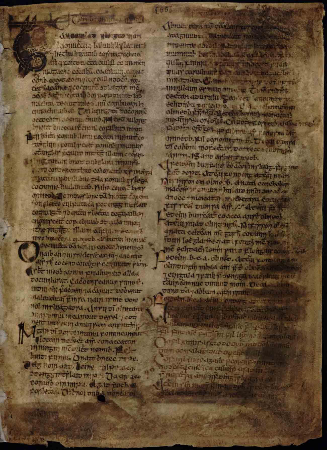 Lebor na hUidhre, c. AD 1050–1100