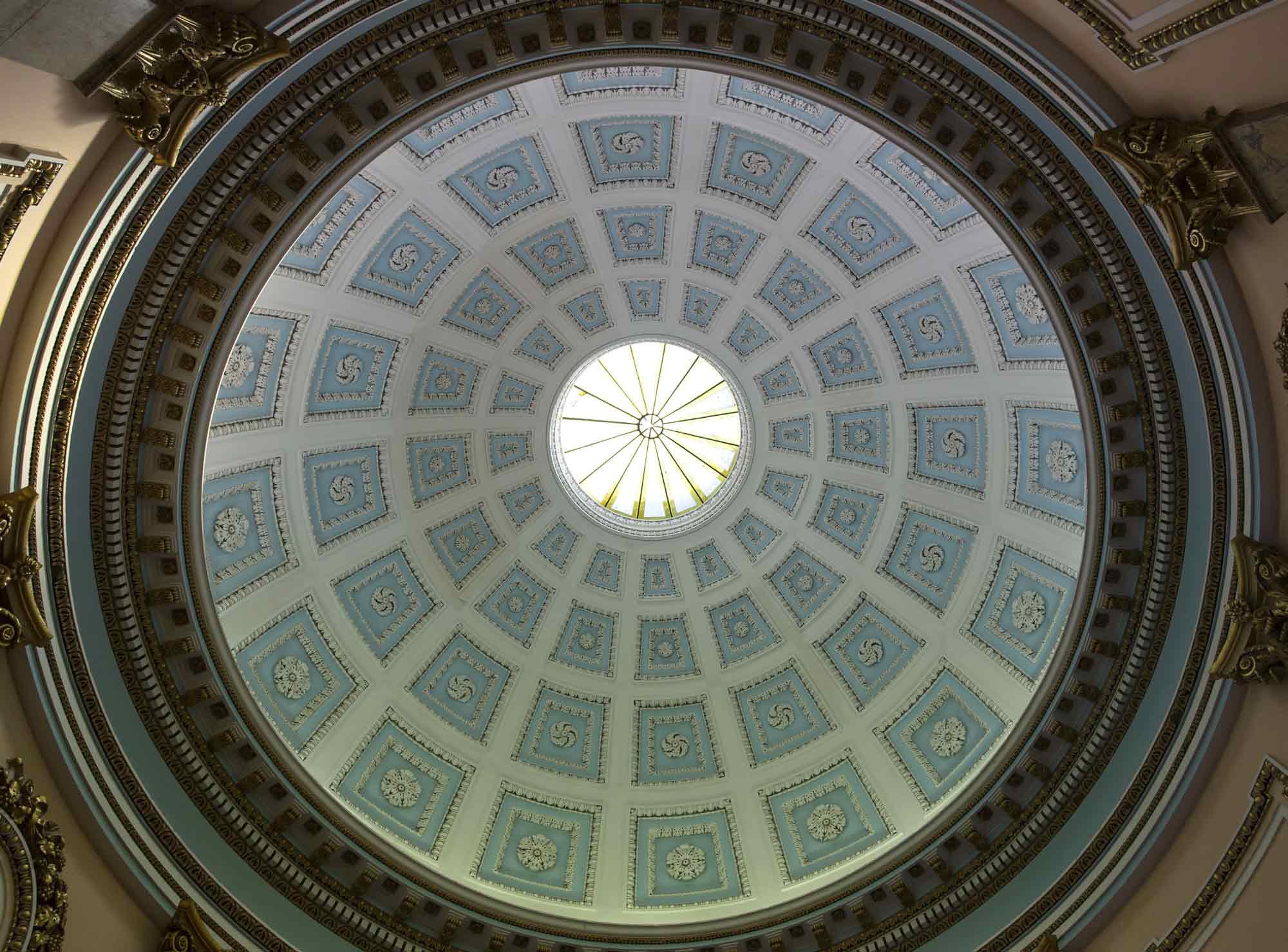 Interior of the rotunda dome