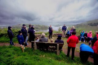 Lough Gur viewing point