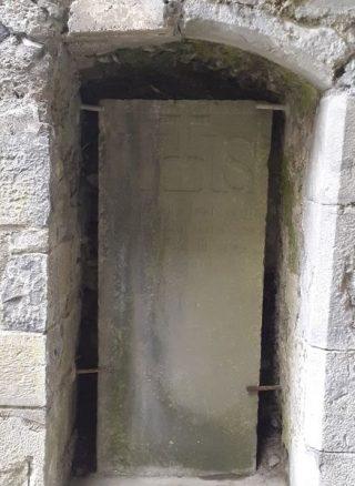 Upright Gravestone of Simon Brodin OFM