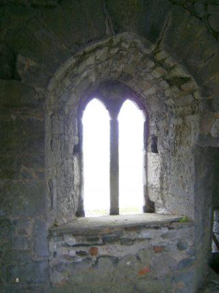 Double light window, second floor, facing east