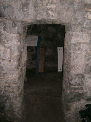 Prison cell entrance