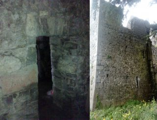 Ennis Friary prison cell