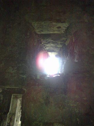 Prison cell's little window