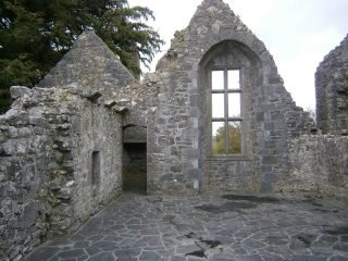 The library at Ennis Friary