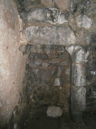 The prison cell fireplace