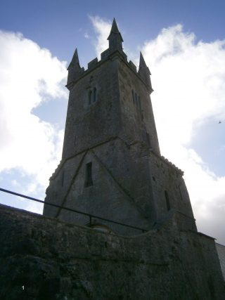View of the tower from the N.E.